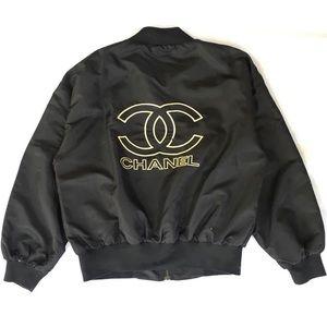 Rare vintage Chanel Bomber Jacket